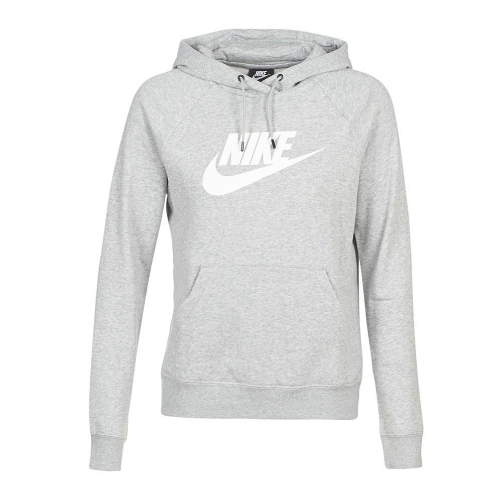 NIKE Nike SPORTSWEAR ESSENTIAL Sweat Femme greywhite