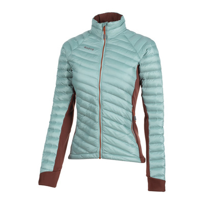 R'ADYS - R5 HYBRID X-LIGHT INSULATED - Anorak mujer glacier