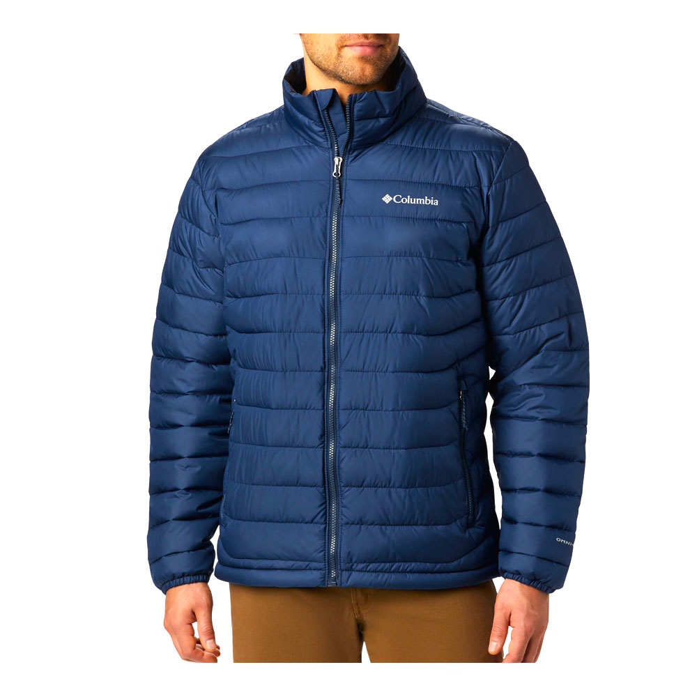 COLUMBIA - Powder Lite Jkt-Collegiate Navy Homme Collegiate Navy