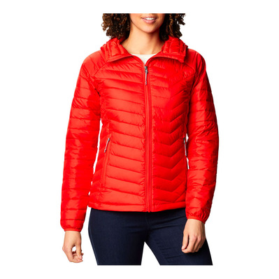 COLUMBIA - EU POWDER LITE - Anorak mujer bold orange