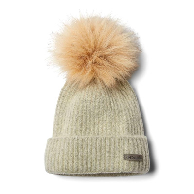 COLUMBIA - WINTER BLUR POM - Gorro chalk