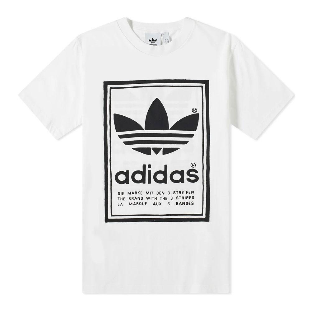 ADIDAS Adidas VINTAGE Tee shirt Homme whiteblack