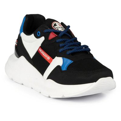 GEOGRAPHICAL NORWAY - GNM19025-02 - Sneakers homme black / blue