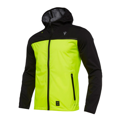 MACRON - RUN CHINOOK FBJ GARETH - Jacket - Men's - black/yellow