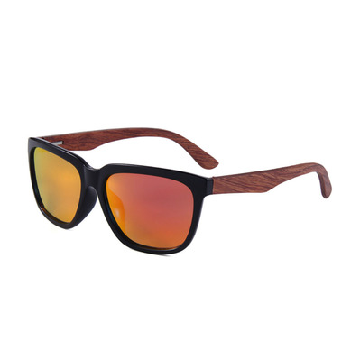 FELER - CHARLES - Polarised Sunglasses - black/red
