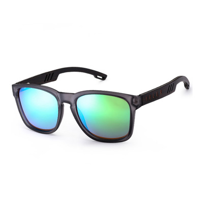 FELER - CLIFF LAYERED - Polarised Sunglasses - grey/green