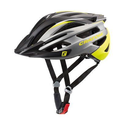 CRATONI - AGRAVIC - Casco BTT anthracite/lime/black matt