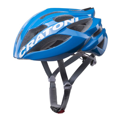 CRATONI - C-BOLT - Casque blue/white glossy