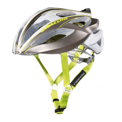 CRATONI - C-BOLT 2016 - Casco carretera anthracite/white/lime glossy