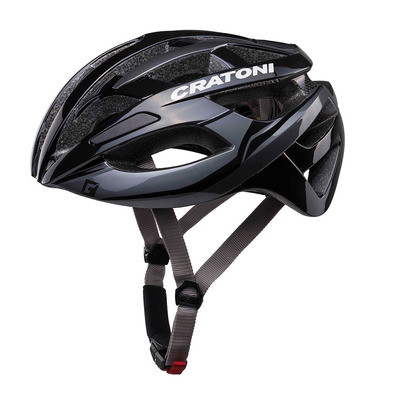 CRATONI - C-BREEZE 2017- Casco de carretera black/anthracite glossy