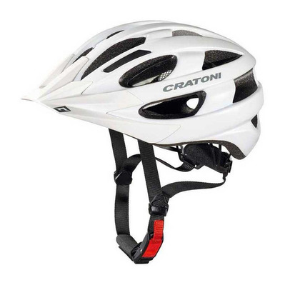 CRATONI - VELON - Casco de ciudad white matt uni