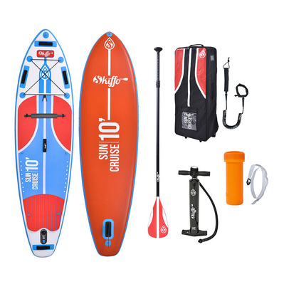 SKIFFO - SUN CRUISE 10' - Inflatable SUP Board - red/blue + Accessories