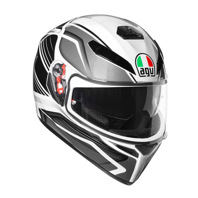 AGV - K-3 SV MULTI - Full Face Helmet - black/silver