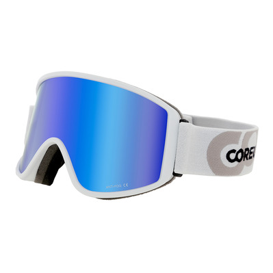 COREUPT - 19011 - Ski Goggles - white/flash blue