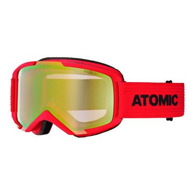 ATOMIC - SAVOR M STEREO - Ski Goggles - red/yellow green