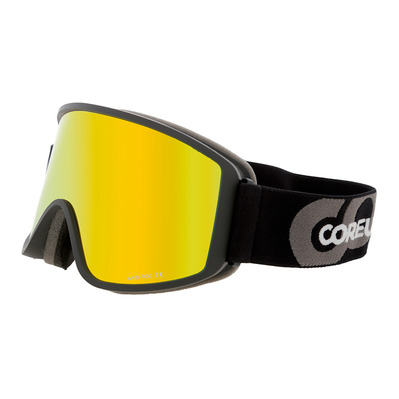 COREUPT - 19014 - Ski Goggles - black/flash orange