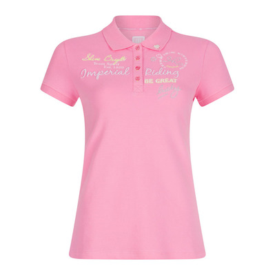 IMPERIAL RIDING - KINDNESS - Polo - Junior - rose
