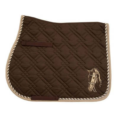 IMPERIAL RIDING - PISA - GP Saddle Pad - brown/beige