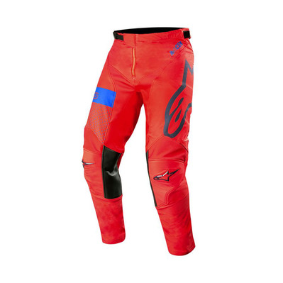 alpinestars - RACER TECH ATOMIC - Pantalon Homme red/dark navy blue
