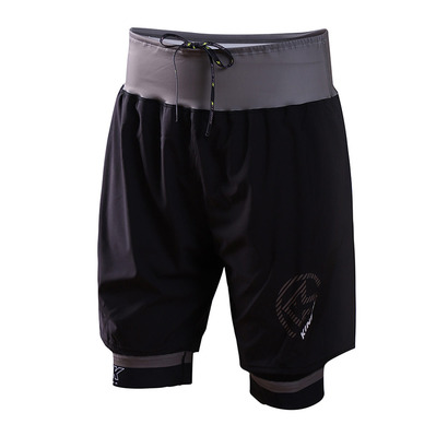 KINETIK - ULTRA TRAIL - Short Uomo nero