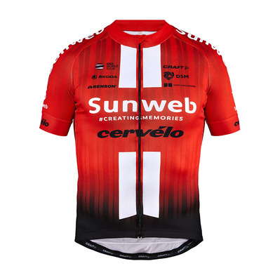 CRAFT - SUNWEB - Jersey - Men's - red