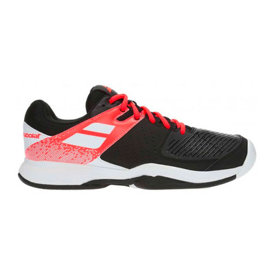 BABOLAT - PULSION ALL COURT 2019 - Zapatillas tenis hombre black/fluo strike