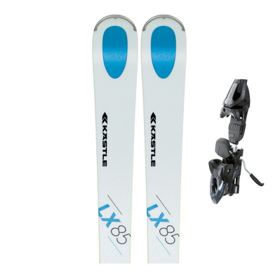 KASTLE - LX85 - All Mountain Skis - Men's + Bindings - K10 SLR PRO matt black