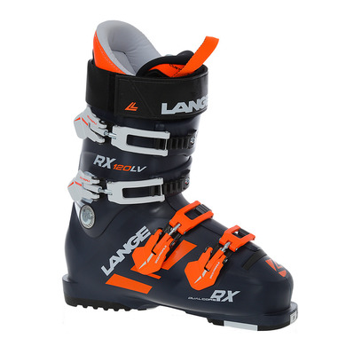 LANGE - RX 120 L.V. - Ski Boots - Men's - dark blue/orange
