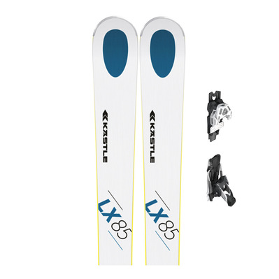 KASTLE - LX85 - All Mountain Skis - Men's + Bindings - K13 ATTACK DEMO B95 white