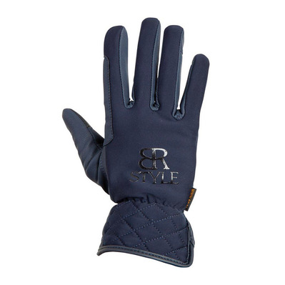 BR EQUITATION - NICOLINA - Gloves - Women's - navy