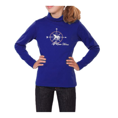 BR EQUITATION - SHENYANG - Base Layer - Junior - mazarine blue
