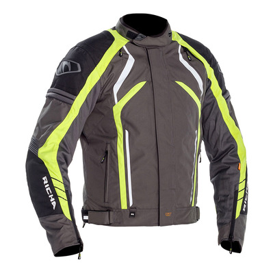 RICHA - TOMAHAWK - Blouson Homme grey/fluo yellow