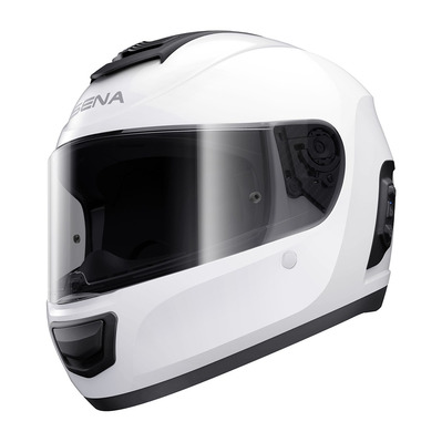SENA - MOMENTUM - Bluetooth Full Face Helmet - bright white