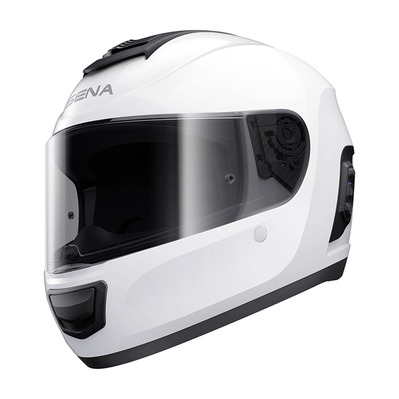 SENA - MOMENTUM LITE - Bluetooth Full Face Helmet - bright white