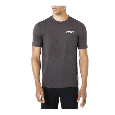 OAKLEY - GLITCH ADVERTISING - Camiseta hombre jet black heather