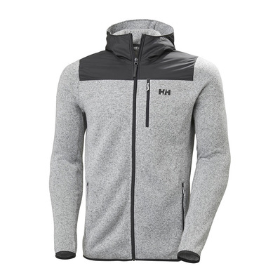 HELLY HANSEN - VARDE HOODED - Polar hombre grey fog