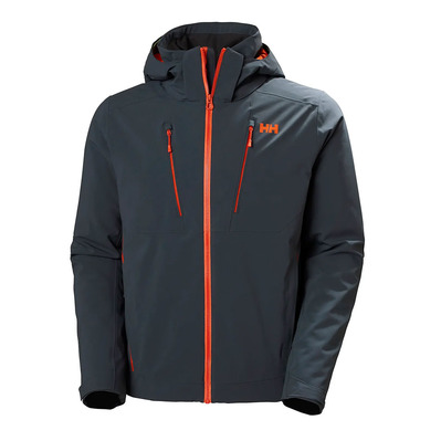 HELLY HANSEN - ALPHA 3.0 JACKET Homme SLATE
