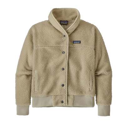 PATAGONIA - SNAP FRONT RETRO-X - Chaqueta mujer pelican