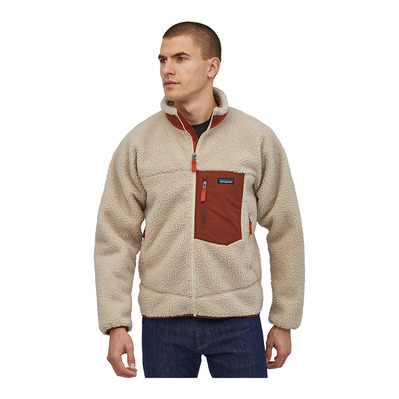 PATAGONIA - CLASSIC RETRO-X - Veste Homme natural w/barn red