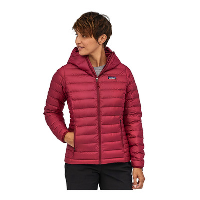 PATAGONIA - DOWN SWEATER HOODY - Doudoune Femme roamer red