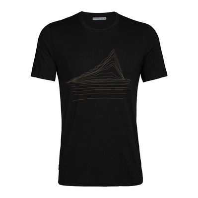 ICEBREAKER - TECH LITE - T-shirt Uomo black