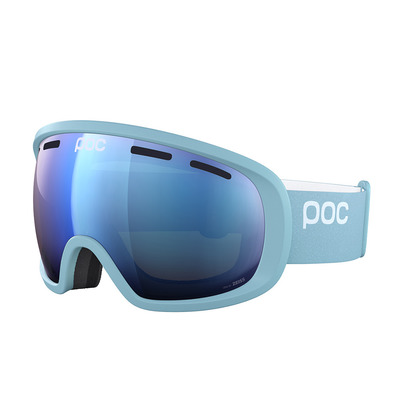 POC - FOVEA - Masque ski crystal blue/spektris orange