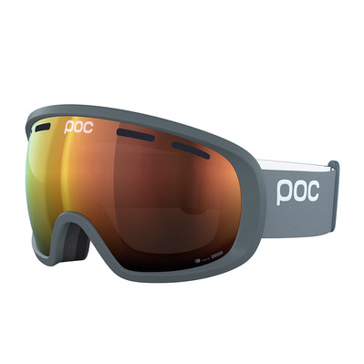 POC - FOVEA CLARITY - Masque ski pegasi grey/spektris orange