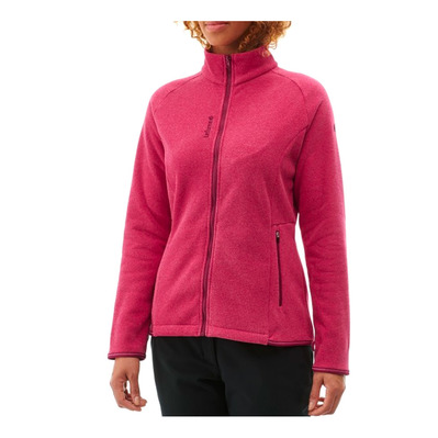 LAFUMA - TECHFLEECE F-ZIP - Pile Donna carmine red