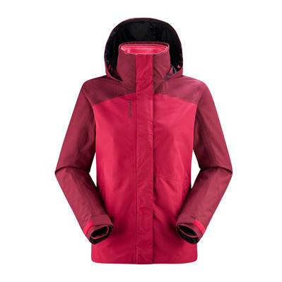 LAFUMA - JAIPUR GTX 3IN1 FLEECE - Chaqueta mujer carmin red