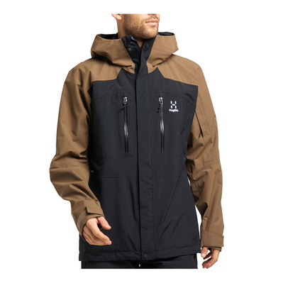 HAGLOFS - ELATION GTX - Chaqueta de esquí hombre true black/teak brown