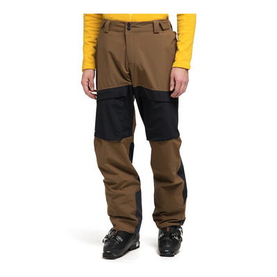 HAGLOFS - ELATION GTX - Pantalon ski Homme teak brown/true black