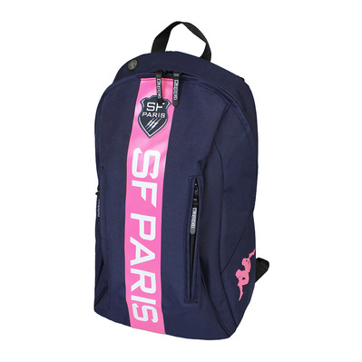 KAPPA - DOWNFORCE SFP - Mochila blue marine/pink