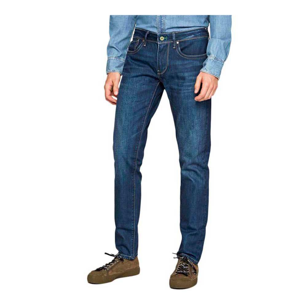 Especial Pantalones Pepe Jeans Pm200823wu62 Pantalon Hombre Denim Private Sport Shop