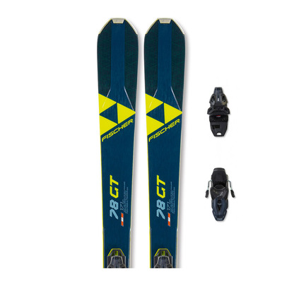 FISCHER - RC ONE 78 GT TPR + RSW 10 - Pack skis piste + Fixations